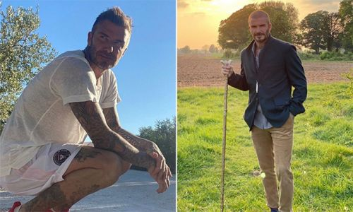 David Beckham shares his ultimate fast food meal - and it's a British favourite!