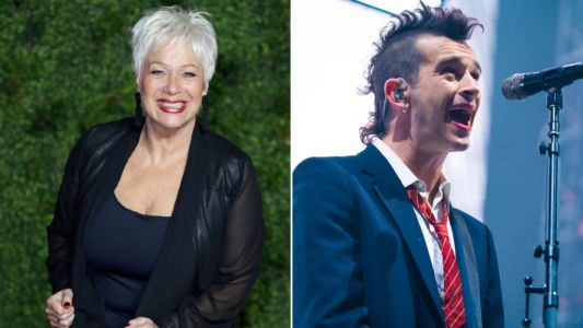 Denise Welch jokes Matty Healy's band The 1975 'wouldn't exist' had it not been for her mental health issues