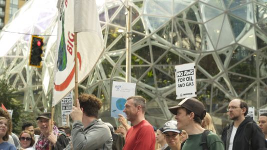 Thousands of Amazon employees walk out for climate strike