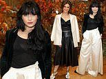 Daisy Lowe looks chic as she joins leather-cladEmilia Fox at star-studded fashion event