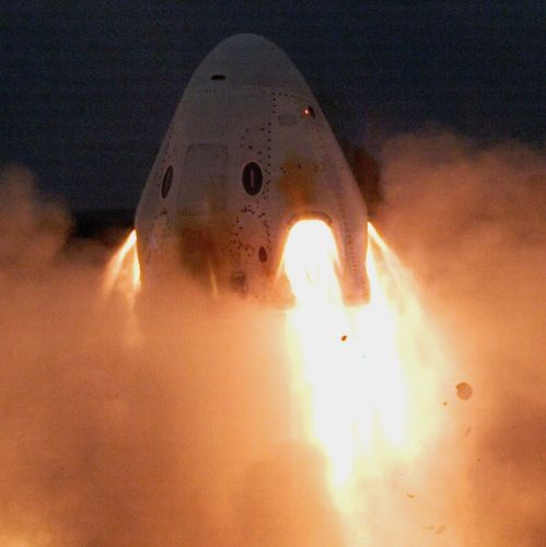 SpaceX fires up Crew Dragon thrusters in key test after April explosion