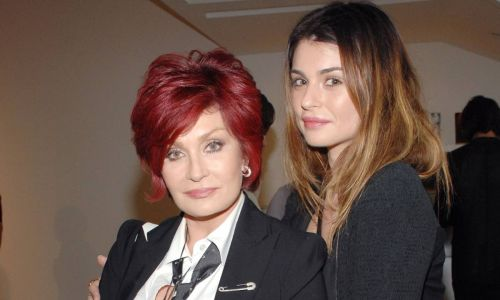 Sharon Osbourne shares rare photo of daughter Aimee to mark special celebration