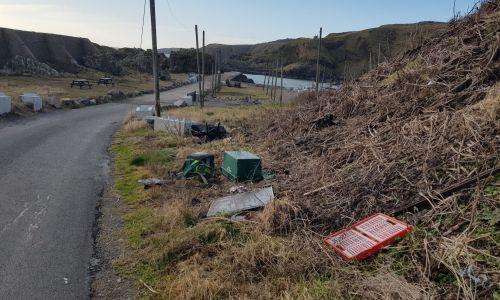 Anger as fly-tipping incidents soar in parts of northern Scotland