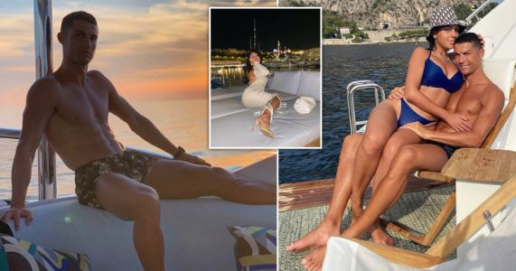 Cristiano Ronaldo and Georgina Rodriguez are living it up on yacht in French Riviera and we're not bitter at all