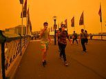 Push for outdoor workers to be given time off the job as smoke haze persists over Sydney