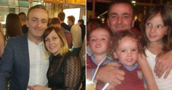 Dad-of-three told life-saving cancer op cancelled 'for foreseeable future'
