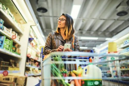 Leave Your Phone At Home When You Go To The Supermarket -And Save Money