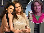 Kendall Jenner calls her dad Caitlyn 'such a cutie' as she shares footage of her Pringles commercial