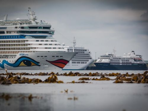 Scottish town named top cruise ship destination in Western Europe