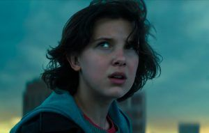 """This time we join the fight"": Watch the dramatic trailer for new 'Godzilla' movie, starring Millie Bobby Brown"