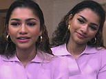 Zendaya reveals celebrating Emmy win for Euphoria with pancakes while promoting special episodes