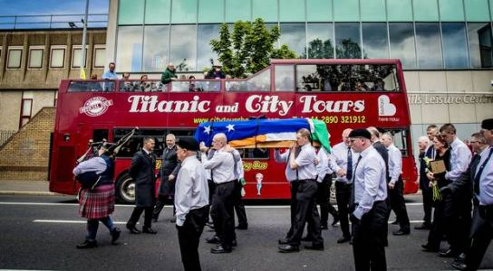 PSNI to scrutinise footage of INLA killer McElkerney's funeral