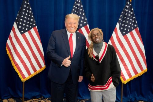 Lil Wayne supports Donald Trump ahead of US election as he poses with President