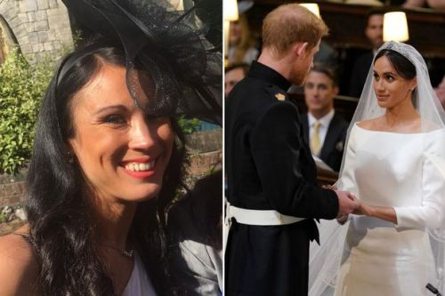 Royal wedding guests see double after rubbing shoulders with Meghan Markle's doppelganger