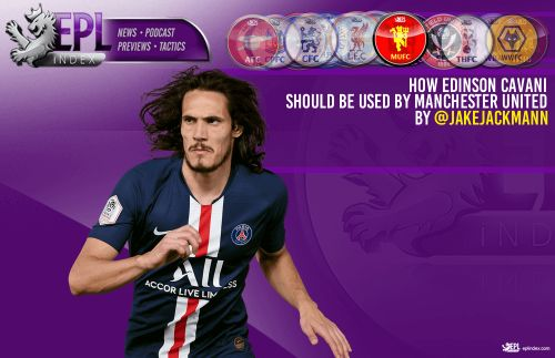 How Edinson Cavani should be used by Manchester United