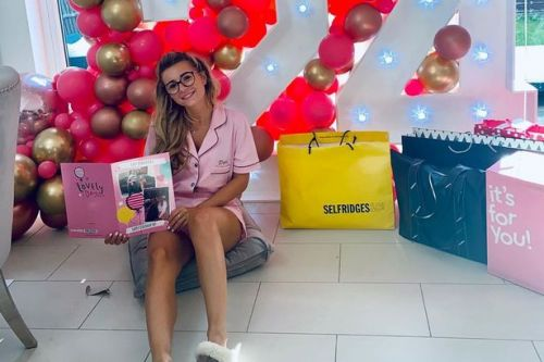 Pregnant Dani Dyer wakes up to elaborate surprise by Sammy Kimmence on birthday