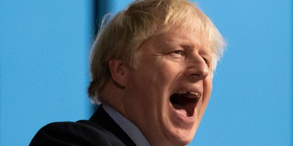 Exit poll shows Boris Johnson's Conservative party is on course for a huge majority in the UK general election
