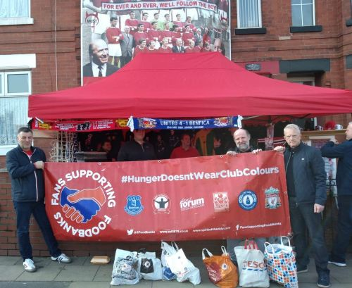 """Fans Supporting Foodbanks: """"It's not charity, it's solidarity"""""""