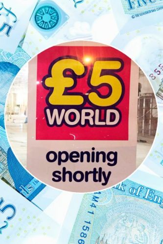 Five Pound World is opening - and it's opening 180 stores across the UK