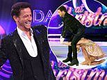 Joe Swash 'hits his head in nasty accident' during Dancing On Ice rehearsals