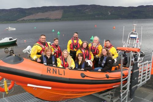 Meet the couples of Scotland's 'Love Boat' loch rescue team