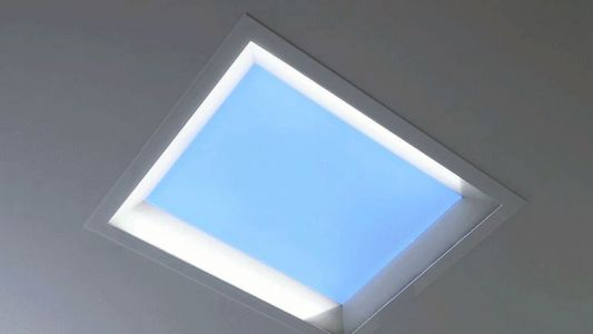 Mitsubishi's Fake LED Skylights Simulate Sunlight to Make Offices Feel Less Depressing