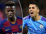 Man City right-back Joao Cancelo 'wanted by Barcelona in shock player-swap deal for Nelson Semedo'
