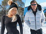 Keira Maguire enjoys a cosy romantic getaway to Mount Hotham with Love Island star Matthew Zukowski
