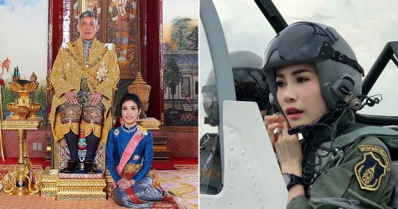 Thai king strips consort of titles for trying to undermine his wife