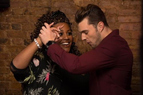 Curtis Pritchard and Alison Hammond get sexy with salsa moves as they open up about body shaming