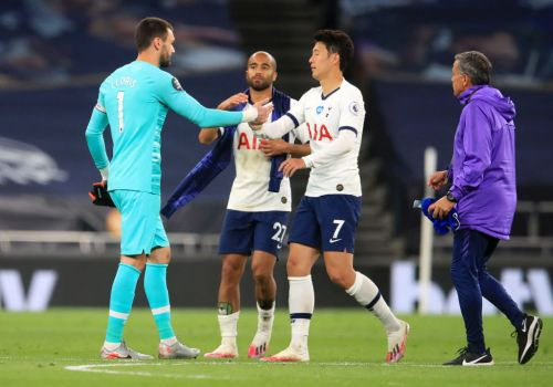 Hugo Lloris explains why he was so 'annoyed' with Son Heung-min during Tottenham's win over Everton