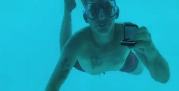 Girlfriend distraught as partner dies during underwater proposal on dream holiday