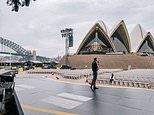 Harry and Meghan share a moment solitude at Sydney Opera House