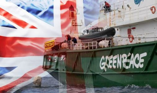 Take back control! Greenpeace put blockade in North Sea to stop 'destructive' fishing