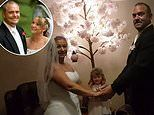 Melbourne couple celebrating their 10-year wedding anniversary renew their vows at home