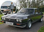 Henry Ford II's 1981 Capri is set to fetch up to £35,000 at UK auction