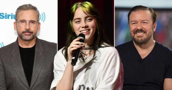 Billie Eilish is joining Ricky Gervais and Steve Carrell for The Office podcast