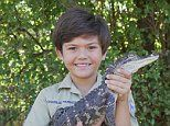 Fearless youngster Charlie Parker wrangling crocodiles deadly snakes since he was THREE years old