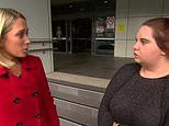 'I don't want to talk about it!' Woman who attacked pensioner is confronted on TV