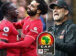 Liverpool to hold talks in attempt to delay losing Mohamed Salah and Sadio Mane to AFCON
