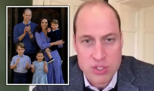 Prince William tells George, Louis and Charlotte about NHS heroes 'every day'