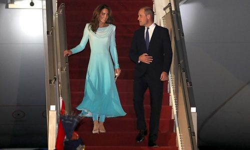 Royal FIRST as Prince William and Kate take doctor on tour for the first time