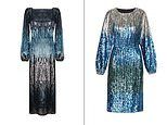 Where to find the budget version of this season's hottest fashion trend: Ombre sequin dresses