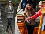 Kate Middleton put on a stylish display as she arrived in Cumbria