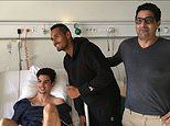Nick Kyrgios NK Foundation visits sick kids tennis star