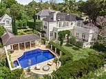 Iconic Seven newsreader Ann Sanders' INCREDIBLE castle-style home goes up for sale for $15MILLION