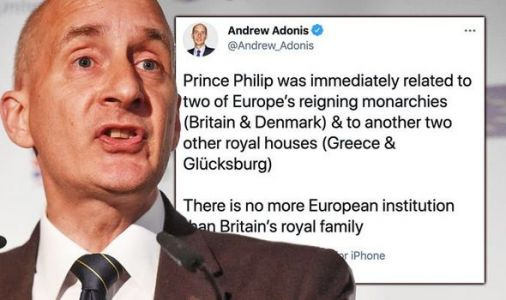 Lord Adonis can't resist linking Prince Philip to Europe before demanding UK rejoin bloc
