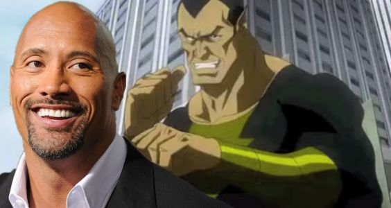The Rock surprises fans with a first look at his DC anti-hero Black Adam who's getting his own movie