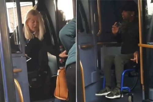 Bus driver tells disabled man 'I don't understand foreign languages' in foul rant