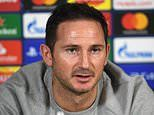 Frank Lampard backs Chelsea kids on his biggest night as manager